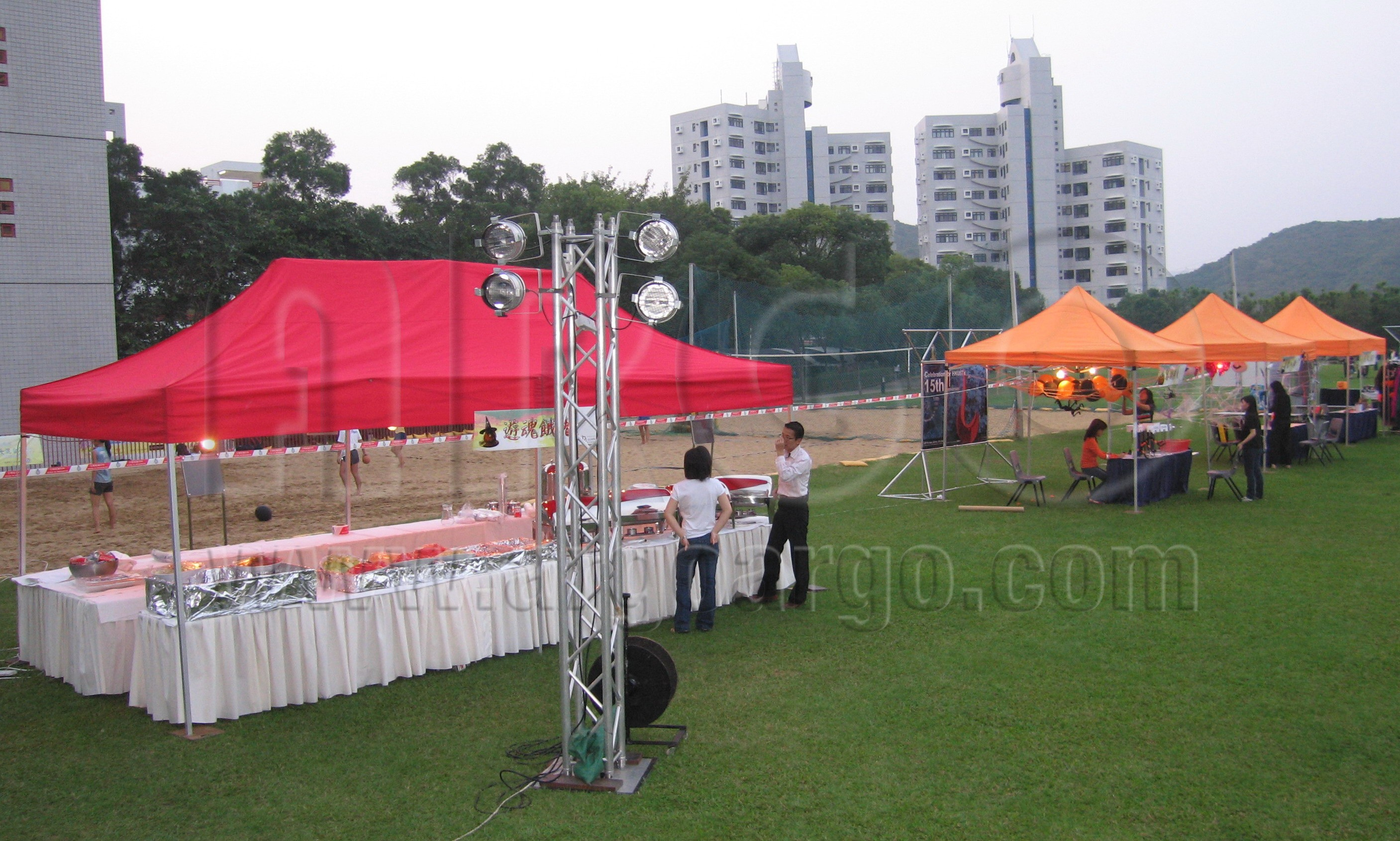 3m X 6m Folding Marquee Booth 藝高製作有限公司