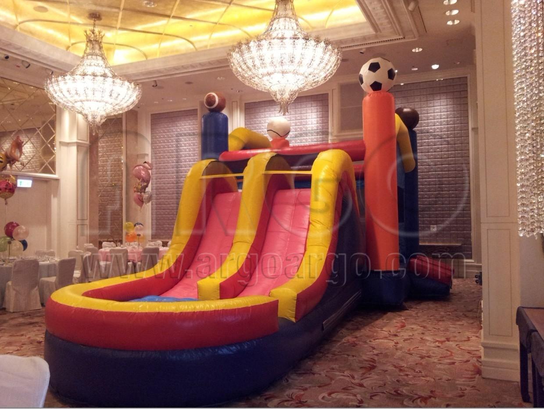 Sport Inflatable Combo Slide