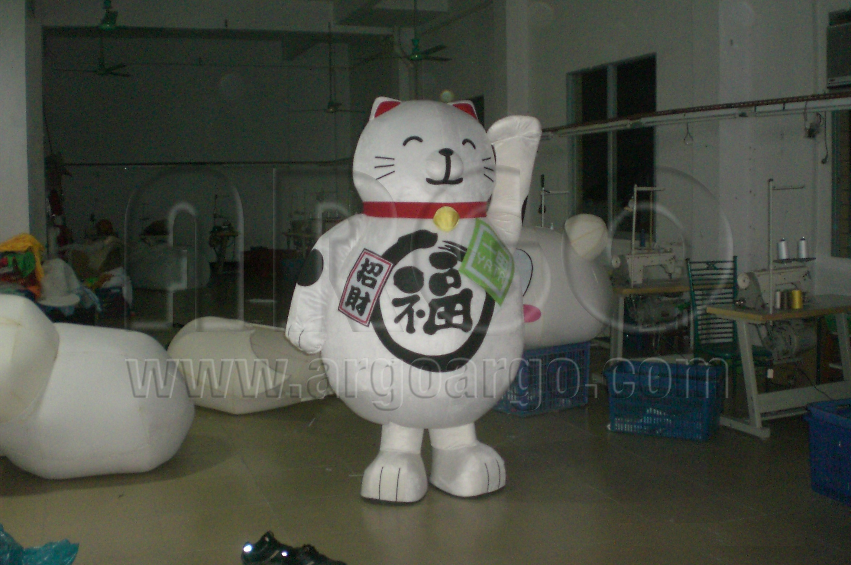 Lucky Cat Mascot : lucky cat costume  - Germanpascual.Com