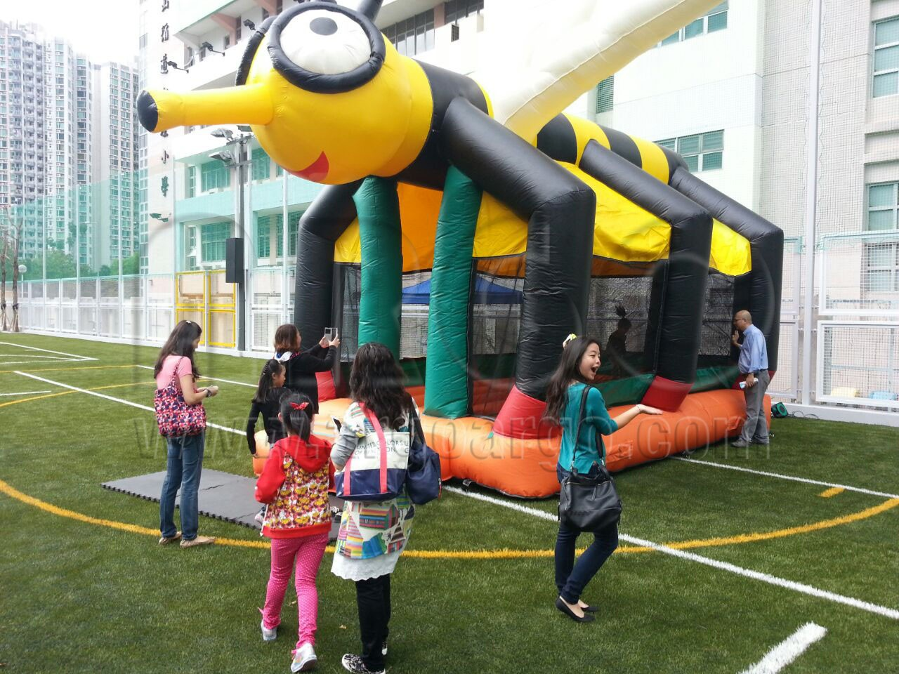 Bee Inflatable Bouncer