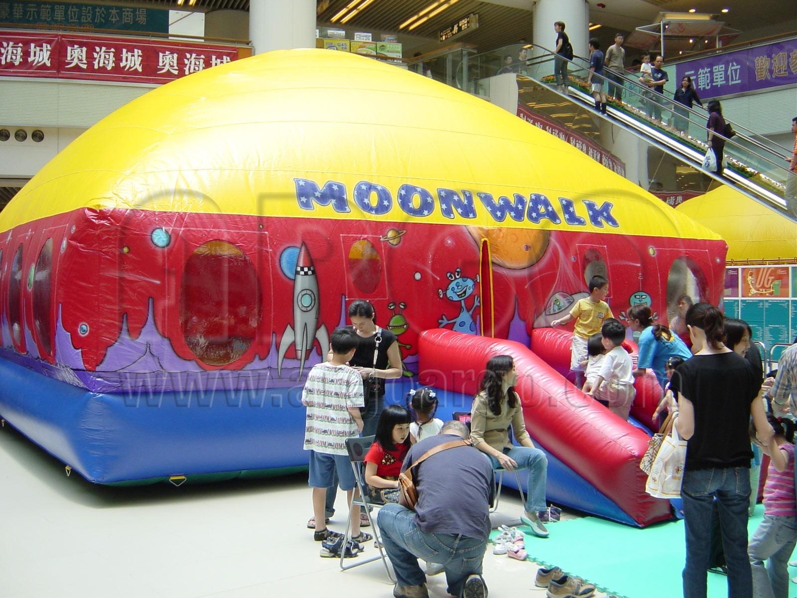 Moon Walk Inflatable Bouncer