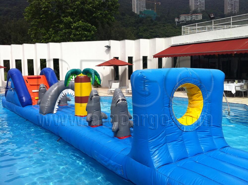Inflatable Shark Island
