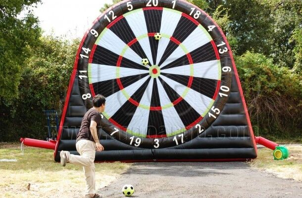 Giant Inflatable Soccer Darts Game