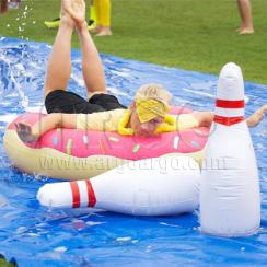 Water Slip N Slide Bowling